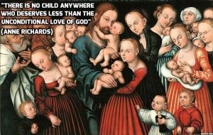 Cranach the Elder Christ blessing the children